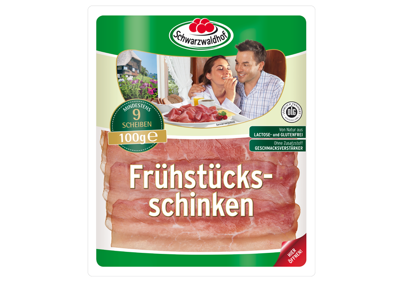 Produktabbildung Schwarzwaldhof Frühstücks Schinken
