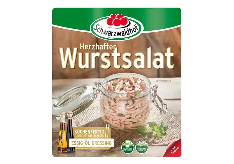 Produktabbildung Schwarzwaldhof herzhafter Wurstsalat