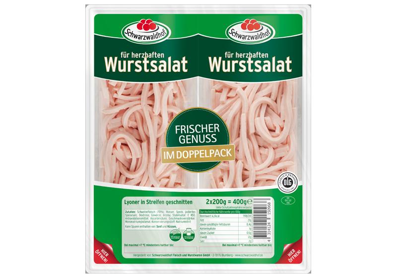 Produktabbildung Schwarzwaldhof Wurstsalat