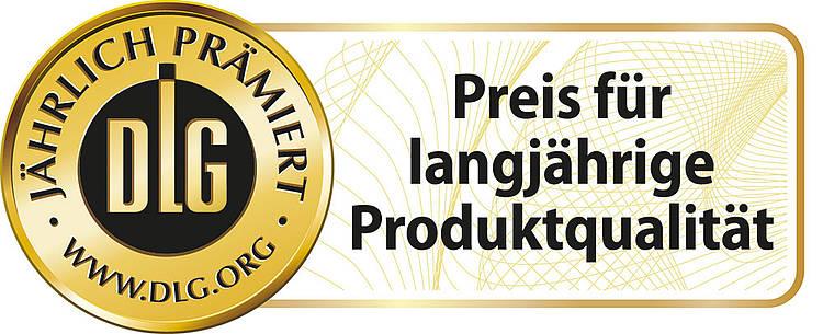 DLG-Label - Preis für langjährige Produktqualität